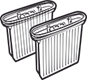 Фильтры для водопылесосов