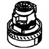 GHIBLI Турбина для пылесосов AS/ASL/M, пароочистителей CLASSIC - фото 12361