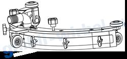 всасывающая балка для поломоечных машин Freccia 15