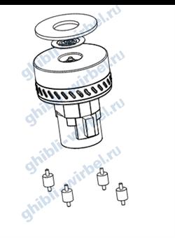 вакуумный мотор (турбина)  24 V для FR 15 M/HYBRID