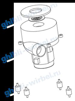 Ghibli мотор (турбина) 220 V для FR 15 Е