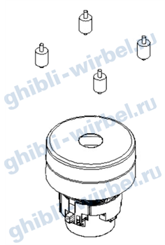 Ghibli вакуумный мотор (турбина) 220 V для FR 30 Е