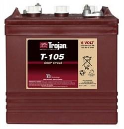 Trojan T105 - Тяговый аккумулятор - фото 13458