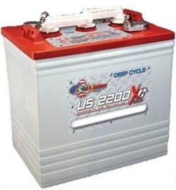 US 2200 XC2 U.S. Battery - тяговый аккумулятор - фото 13461