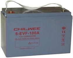 Chilwee 6-EVF-100A - Тяговый аккумулятор, GEL - фото 13672