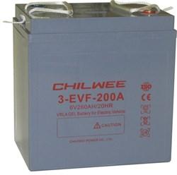 Chilwee 3-EVF-200A - Тяговый аккумулятор, GEL - фото 13675