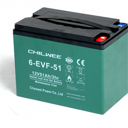 Chilwee 6-EVF-51 - Тяговый аккумулятор, GEL - фото 13689