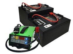 Сhilwee CC-2450-GM - литиевый тяговый аккумулятор (50 Ач) - фото 13706