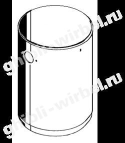 бак стальной для пылесосов Ghibli AS9/WD50