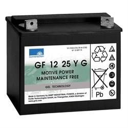 Sonnenschein GF 12 025 Y G - Тяговый  гелевый аккумулятор - фото 14051