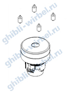 Ghibli вакуумный мотор (турбина) 24 V для Freccia 30 D/М
