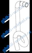 Ghibli всасывающий шланг для Freccia 30/Round 45