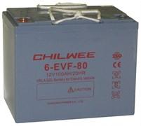 Chilwee 6-EVF-80 - Тяговый аккумулятор, GEL
