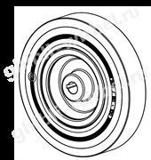 Колесо D200х50 (28.0033.00) для Ghibli Round