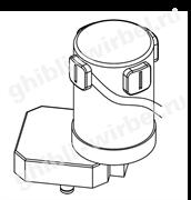 Мотор привода щетки для Ghibli S2